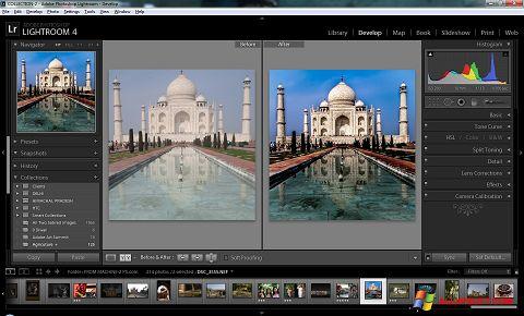 स्क्रीनशॉट Adobe Photoshop Lightroom Windows XP