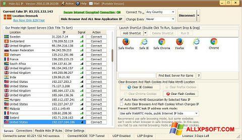 स्क्रीनशॉट Hide ALL IP Windows XP