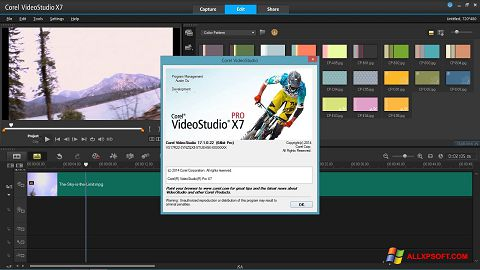 स्क्रीनशॉट Corel VideoStudio Windows XP