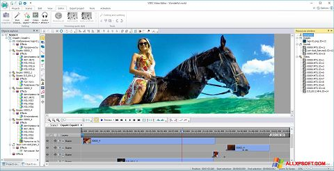 स्क्रीनशॉट Free Video Editor Windows XP