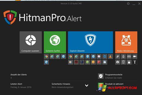 स्क्रीनशॉट HitmanPro Windows XP