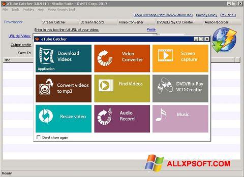 स्क्रीनशॉट aTube Catcher Windows XP