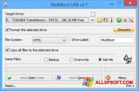 स्क्रीनशॉट Multi Boot USB Windows XP