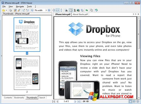 स्क्रीनशॉट STDU Viewer Windows XP
