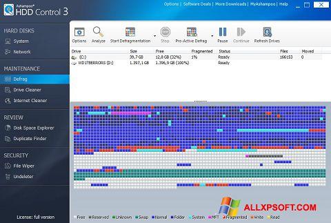 स्क्रीनशॉट Ashampoo HDD Control Windows XP