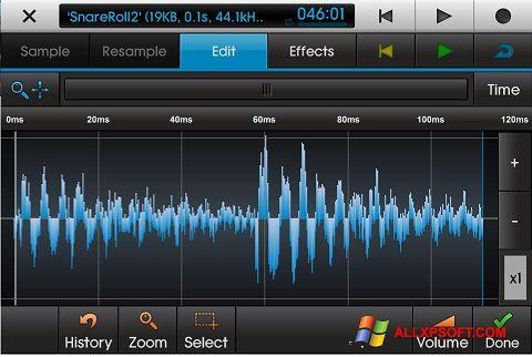 स्क्रीनशॉट NanoStudio Windows XP