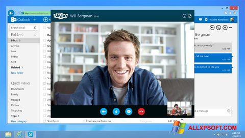 स्क्रीनशॉट Skype Windows XP